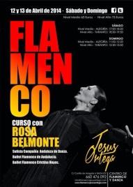 CURSO ROSA BELMONTE CENTRO DE FLAMENCO JESUS ORTEGA
