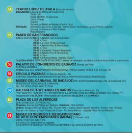 Programa Noche en Blanco Badajoz 2015
